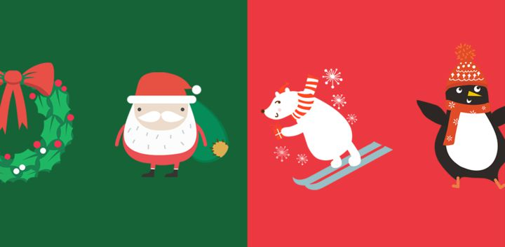 sticker: Xmas Animal Stickers image