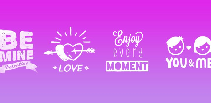 sticker: Valentine Quote image