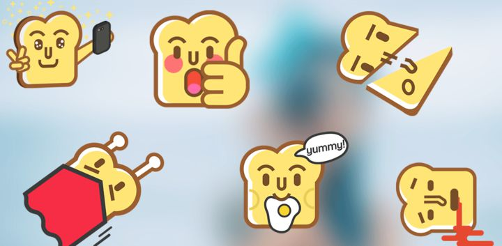 sticker: Toast Buddy image