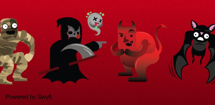 sticker: HalloweenMonsters image