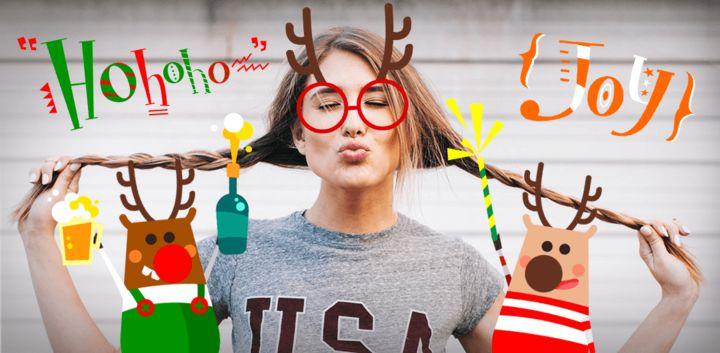 sticker: Reindeer Xmas image