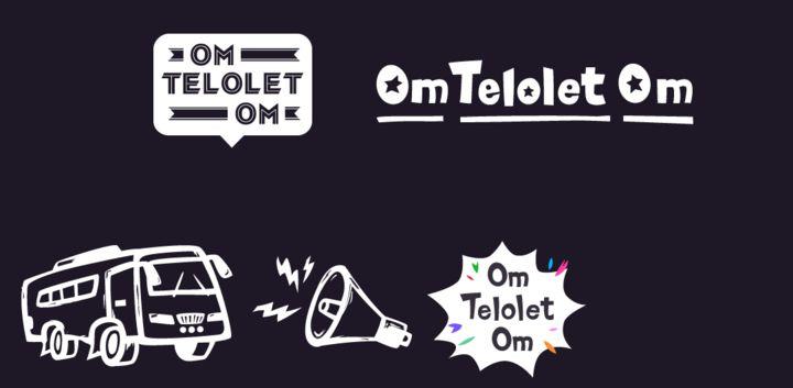 sticker: Om Telolet Om image
