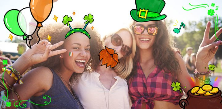 sticker: St. Patrick's Day image