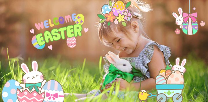 sticker: Cute Easter image