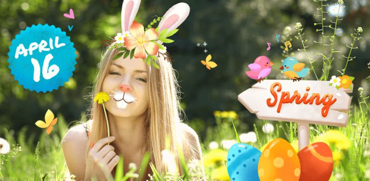 sticker: Easter Holiday image