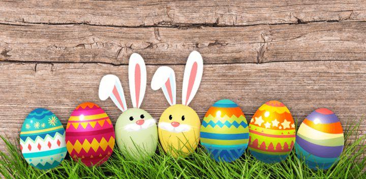 sticker: Easter Eggs image