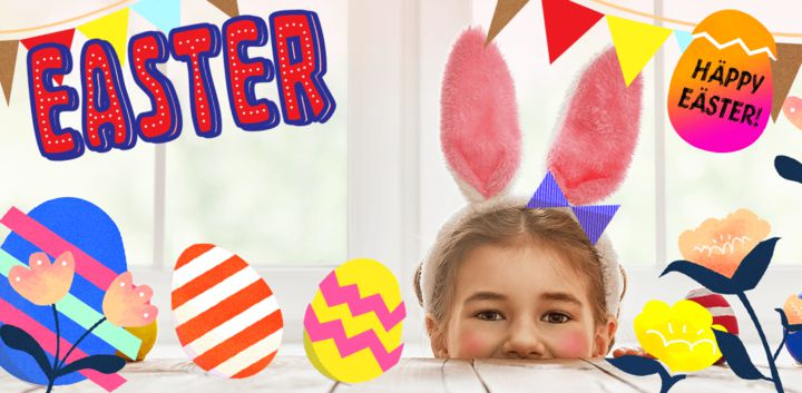 sticker: Happy Easter image