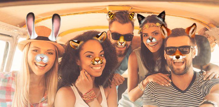 sticker: Animal Party image