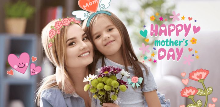 sticker: Love Mom image
