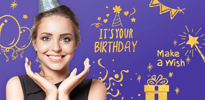 sticker: Birthday Party image