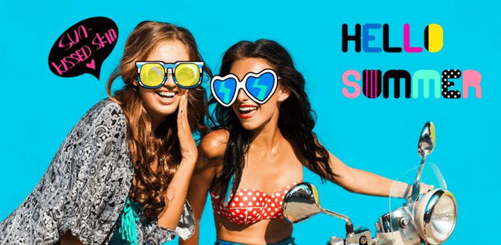 sticker: Hot Summer image