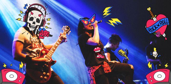 sticker: Rock 'N' Roll image