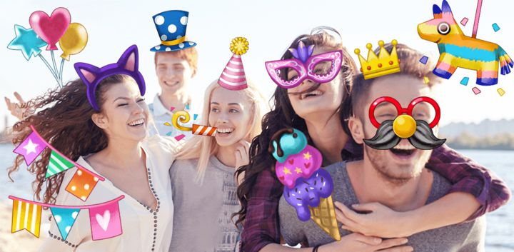 sticker: Party Time image