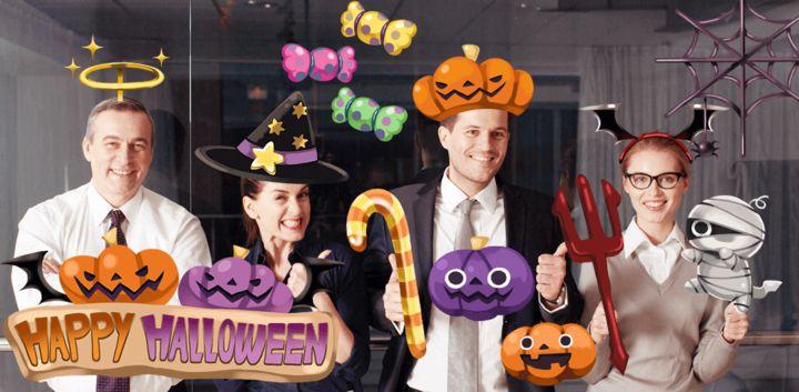 sticker: Happy Halloween image