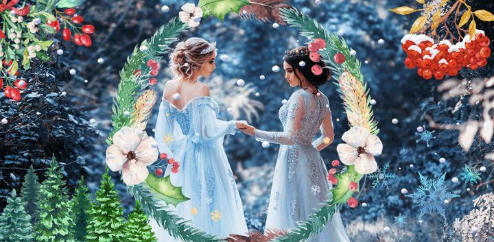 sticker: Winter Flower image