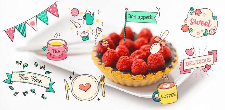 sticker: Foodie image