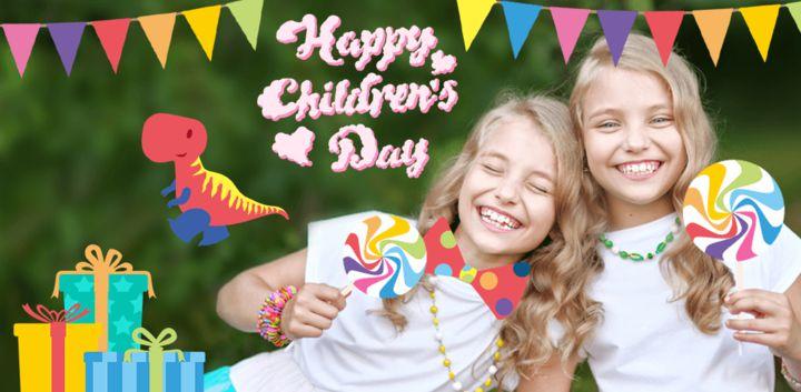 sticker: Children's Day image