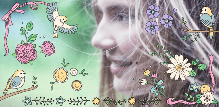 sticker: Spring image
