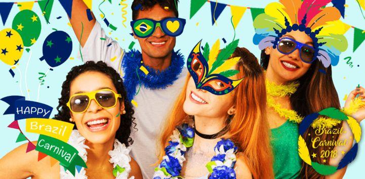 sticker: Brazil Carnival image