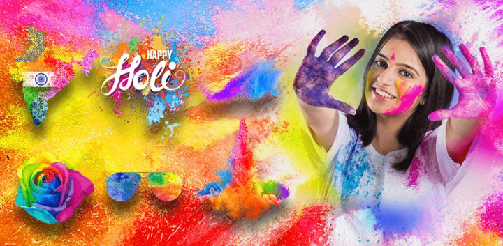 sticker: Holi image