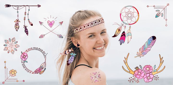 sticker: Boho Fashion image