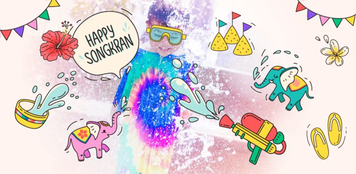 sticker: Songkran Festival image