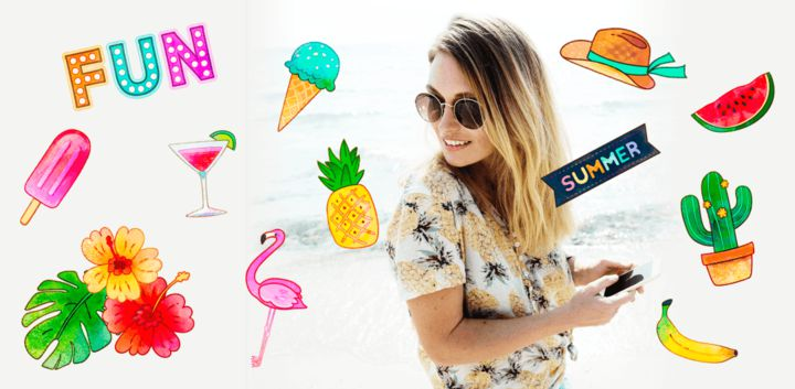 sticker: Summer Fun image