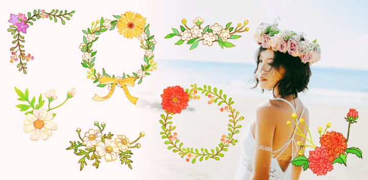 sticker: Floral Summer image