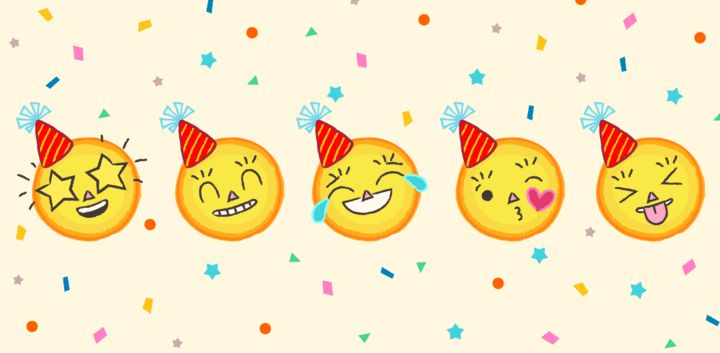 sticker: Party Emoji image