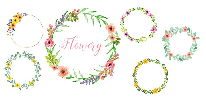 sticker: Flowery image