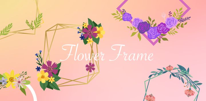 sticker: Flower Frame image