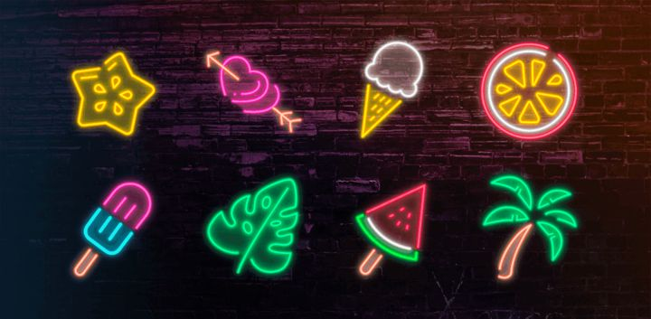 sticker: Summer Neon image