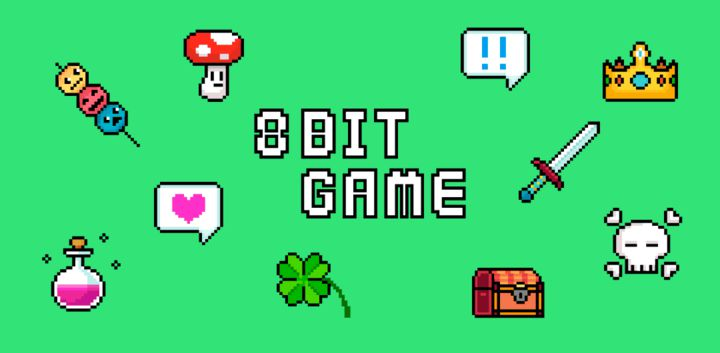 sticker: 8bit game image