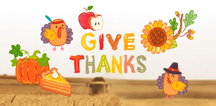 sticker: Thanksgiving image