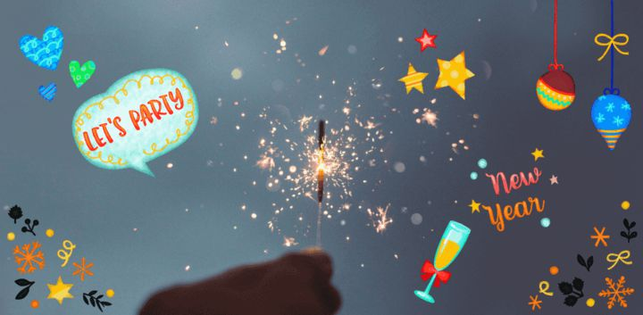 sticker: It's New Year's Eve Sticker image
