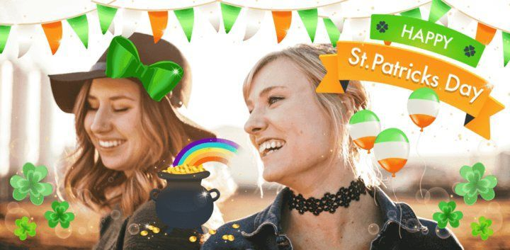 sticker: Saint Patrick's Day Sticker image