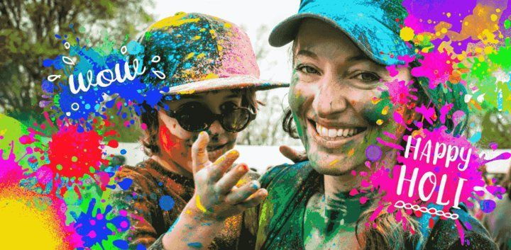 sticker: Holi Celebration Sticker image