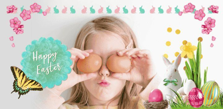 sticker: Easter Celebration Sticker image
