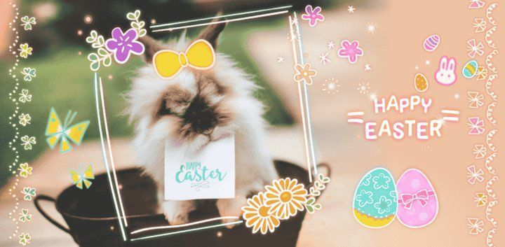 sticker: It's Easter Sticker image