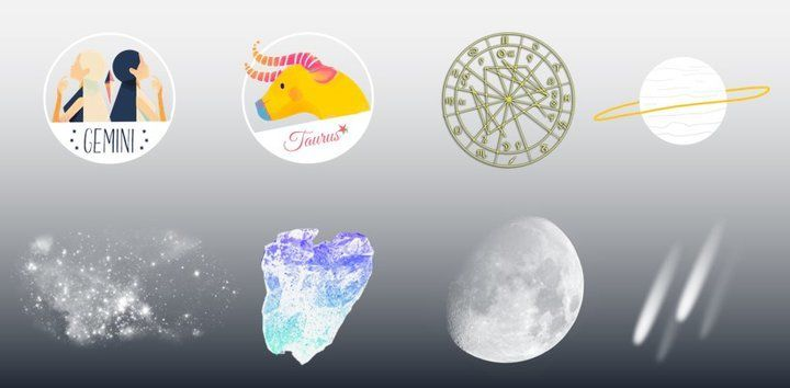 sticker: Gemini & Taurus image