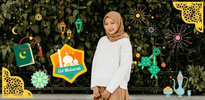 sticker: It's Eid Mubarak image