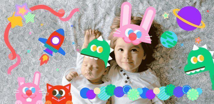 sticker: Kid's Day Sticker image