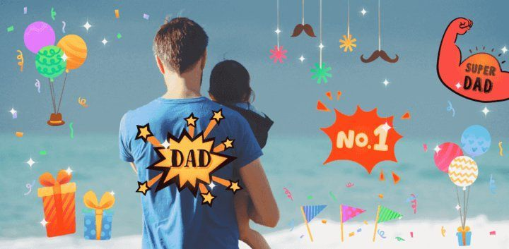 sticker: Father's Day Sticker image