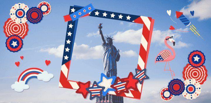 sticker: I love America Sticker image