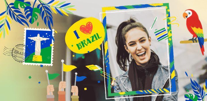 sticker: Independence Day of Brazil image