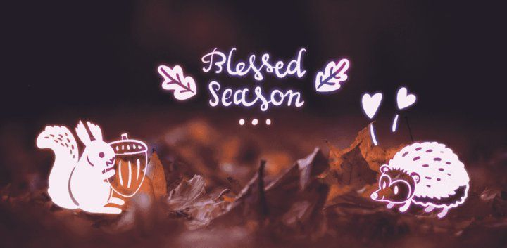 sticker: Blessed Season Sticker image
