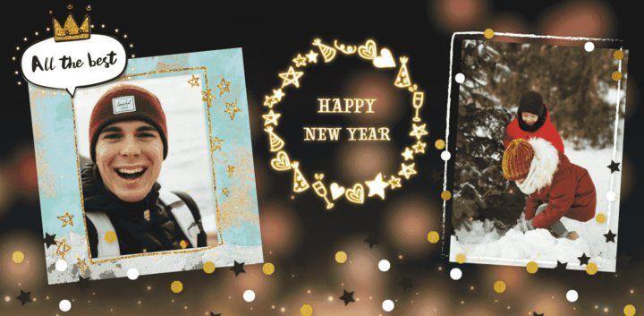 sticker: New Year Wishes Sticker image