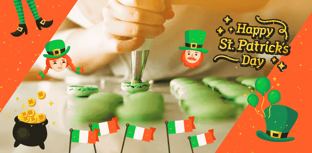 sticker: Happy St. Patrick's Day Sticker image