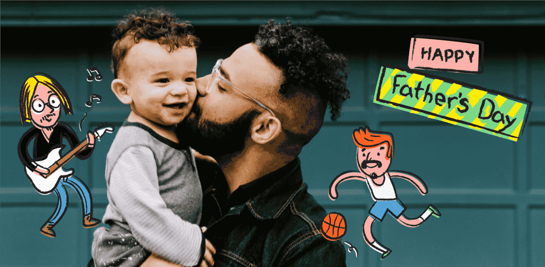 sticker: Super Dad Sticker image