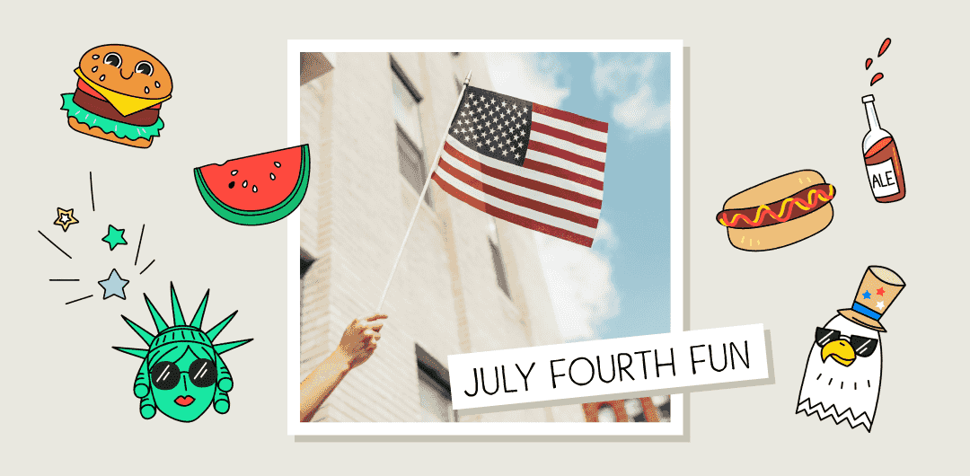 sticker: July Fourth Fun image